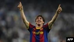 Lionel Messi của FC Barcelona (ảnh tư liệu)
