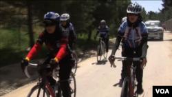 تیم دختران بایسکل ران