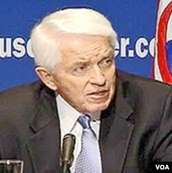 Thomas Donohue, Ketua Kamar Dagang Amerika Serikat.