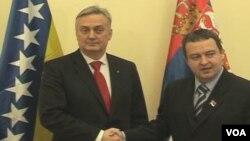 Zlatko Lagumdzija i Ivica Dacic u Beogradu