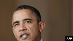Президент Соединенных Штатов Барак Обама. Белый дом. Вашингтон. 1 февраля 2011 года