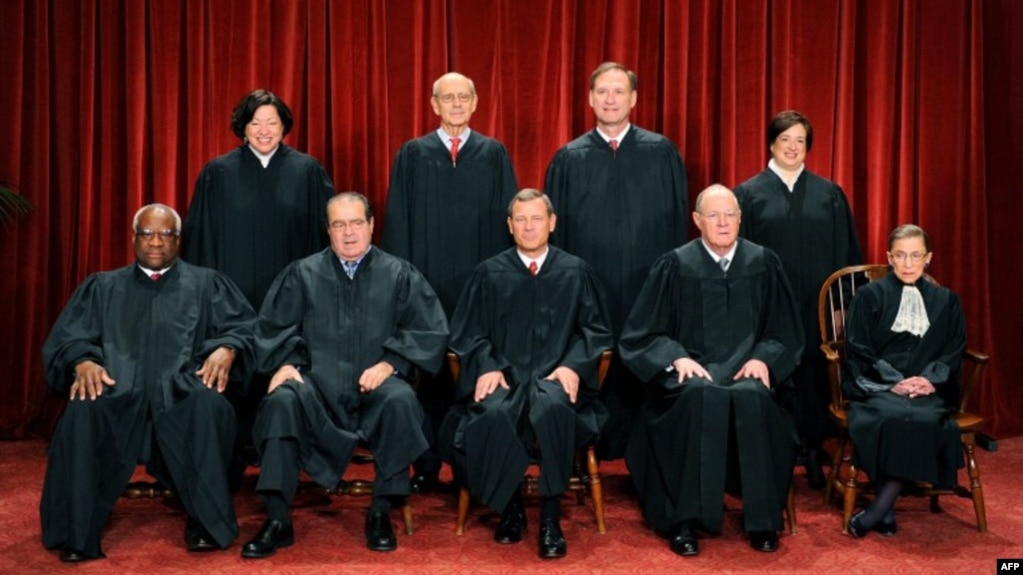 Image result for current supreme court justices