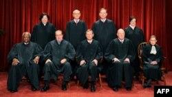 9 vị Thẩm phán Tối Cao Pháp Viện Mỹ