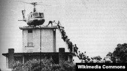 Dinh Độc lập, Sài gòn, ngày 29/04/1975.