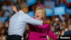 اوباما یک ماه پیش رسما از کلینتون حمایت کرد