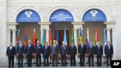 Представители стран-участниц СНГ