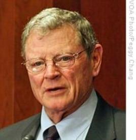 Republican Senator James Inhofe of Oklahoma