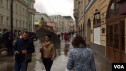 莫斯科街头 (美国之音白桦)