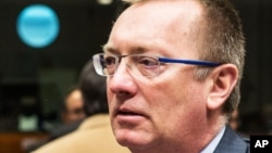 FILE - U.N. Under-Secretary-General for Political Affairs Jeffrey Feltman.