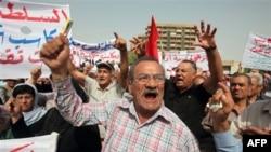 Irak'ta 'Hükümeti Kurun' Gösterisi