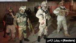 نیروهای ویژه افغان در منطقه شیرپور کابل
