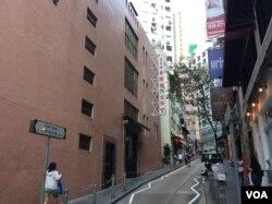 香港一間同鄉基督教堂(美國之音記者申華拍攝)