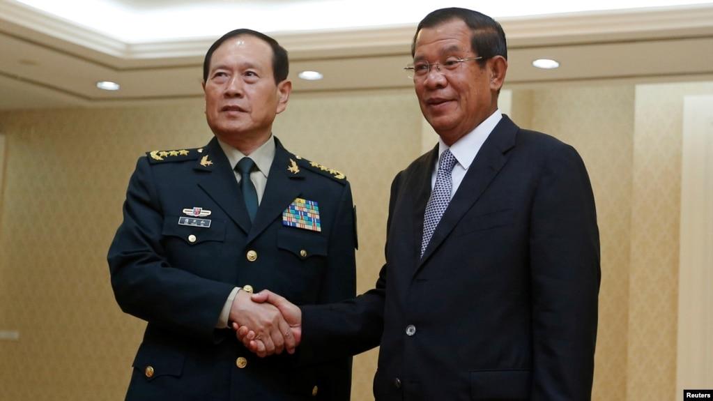 中國再向柬埔寨提供一億美元軍援