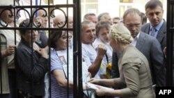Граждане Украины выражают поддержку Юлии Тимошенко