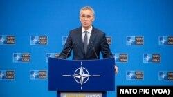 Генеральный секретарь НАТО Йенс Столтенберг (архивное фото)