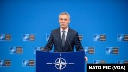 NATO အဖဲြ႔ အတြင္းေရးမွဴးခ်ဳပ္ Jens Stoltenberg