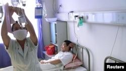 Suasana di sebuah rumah sakit Fengcheng, provinsi Jiangxi, China (Foto: dok).