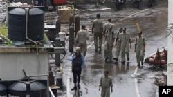 14일 인도 서부 뭄바이항에서 정박 중이던 잠수함이 폴발하는 사고가 발생했다.