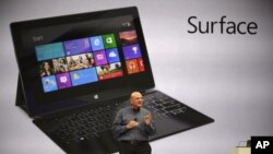 Microsoft-un Surface mini-kompyuteri