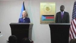 美國國務卿克林頓抵達肯尼亞