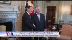 Mỹ theo đuổi quan hệ 'xây dựng' với Trung Quốc