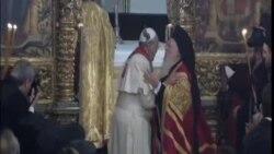 教宗方濟各星期日結束對土耳其訪問