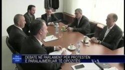 Debate ne parlamentin e Kosoves