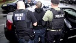 په امریکا کې په غیرقانوني توگه د موجود خارجیانو گرفتاري