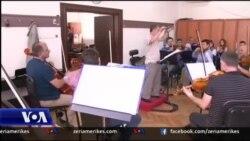 Përgatitja e koncertit për shenjtërimin e Nënë Terezës