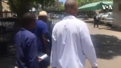 Zimbabwe Doctors Protesting in Harare