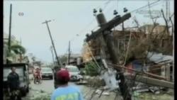 菲律賓中部遭受海燕颱風襲擊100多人死亡