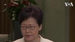 Carrie Lam: Sẵn sàng đối thoại nhưng không chấp nhận bạo lực