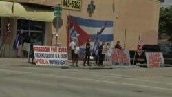 رویارویی موافقان و مخالفان عادی سازی مناسبات آمریکا و کوبا