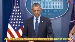 Attaque d'Orlando : Obama condamne un acte de «terreur et de haine»