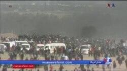 ادامه درگیری ها در مرز غزه و اسرائیل