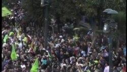 厄瓜多爾總統科雷亞在總統選舉大幅領先