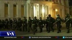 Dy policë plagosen gjatë protestave në Luivill