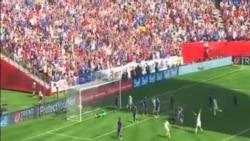 美國女足擊敗日本奪得世界杯
