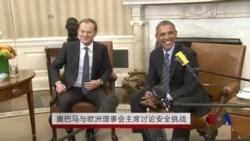 奥巴马、欧盟在华盛顿就乌克兰问题举行会谈