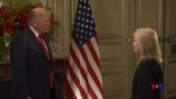 """VOA專訪特朗普: 美中峰會 """"很有可能達成點什麼"""""""
