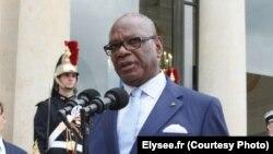 Ibrahim Boubacar Keïta à l'Elysée le 27 juillet 2016.