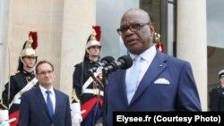 Ibrahim Boubacar Keïta à l'Elysée, le 27 juillet 2016. (Elysee.fr)