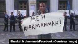 Shavkat Muhammad, Kiyev