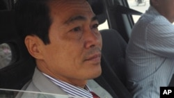 Chan Cheng, a member of the Cambodian national assembly from the opposition Sam Rainsy Party, is accused of helping a fellow party member flee detention. He lost his parliamentary immunity in November 2011.
