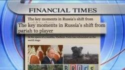 بررسی حضور پررنگ روسیه در تحولات جهانی از سوی نشریات انگلیسی زبان