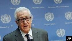 Ðặc sứ LHQ và Liên đoàn Ả Rập cho vụ xung đột Syria Lakhdar Brahimi.