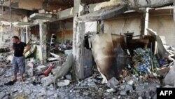 На місці вибуху у Тікріті