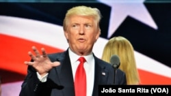 Donald Trump prepara-se para o discurso final