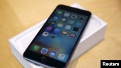 Apple Inc. kalah dalam tuntutan hukum atas hak paten prosesor yang digunakan pada beberapa jenis iPhone, termasuk iPhone 6S Plus ini (Foto: dok).