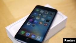 FILE - Apple Inc.'s iPhone 6S Plus.